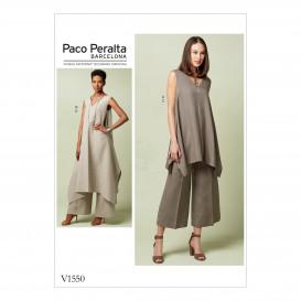 patron tuniques et pantalon Vogue V1550