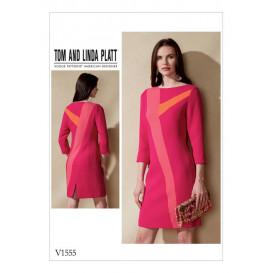 patron robe semi-ajustée Vogue V1555