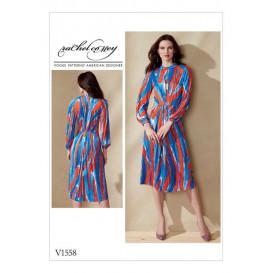 patron robe moulante Vogue V1558