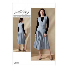 patron robe ajustée Vogue V1556