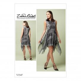 patron robe ajustée Vogue V1547
