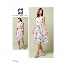 patron robes ajustées Vogue V1543