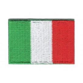 écusson drapeau italie 4,9x3,4cm thermocollant