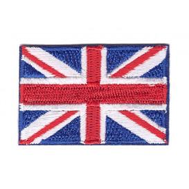 écusson drapeau anglais 4,9x3,4cm thermocollant