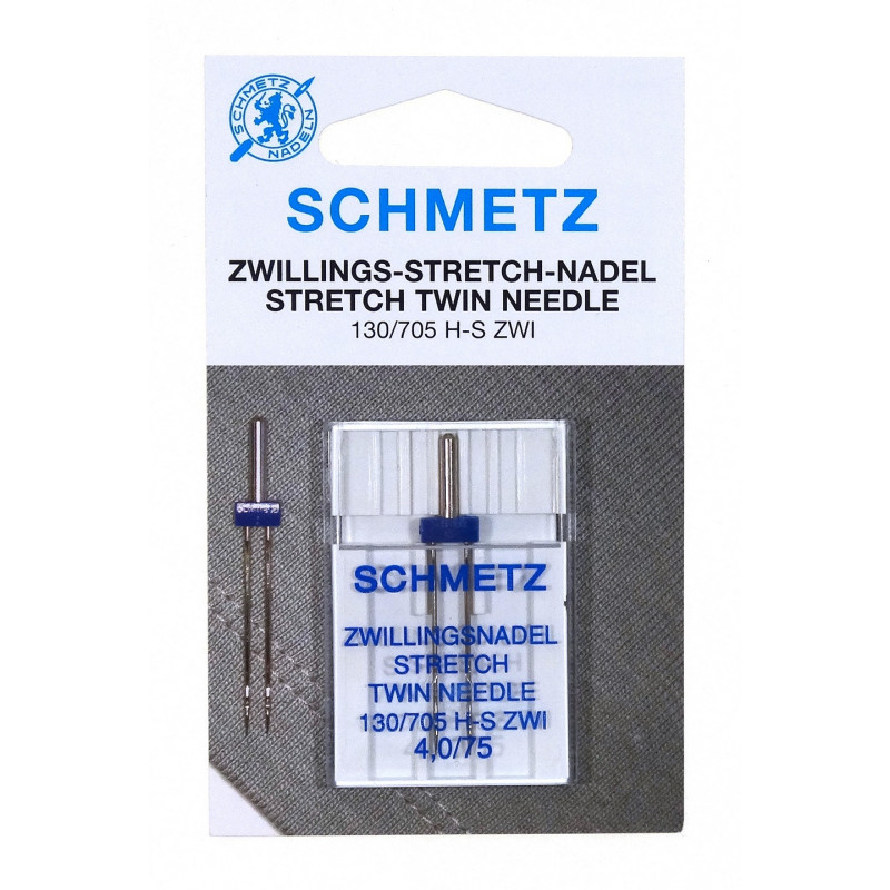 Aiguilles machine doubles stretch schmetz - Machine a coudre stretch ...
