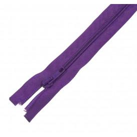 fermeture à glissières spirale 6 violet