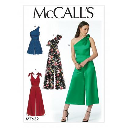 patron barboteuse et combinaisons McCall's M7632