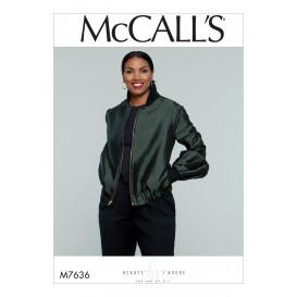 patron veste ample McCall's M7636