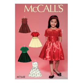 patron enfant robes McCall's M7648