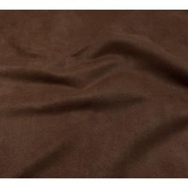 tissu suédine marron largeur 150cm x 50cm