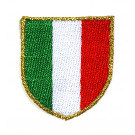 écusson blason drapeau italie thermocollant