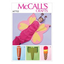 patron couverture pour enfant McCall's M7702