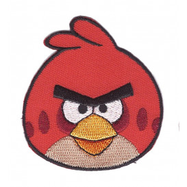 écusson angry birds oiseau rouge thermocollant
