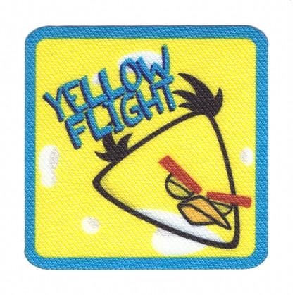 écusson angry birds oiseau jaune thermocollant