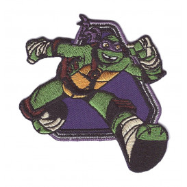 écusson tortue ninja donatello thermocollant