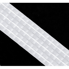 ruban fronceur automatique blanc 70mm