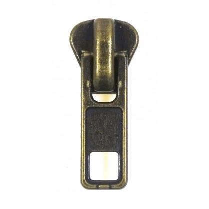 curseur fermeture à glissière injectée n°8