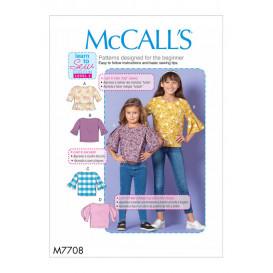 patron enfant hauts McCall's M7708