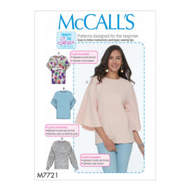 patron hauts amples McCall's M7721