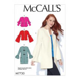 patron vestes amples McCall's M7730