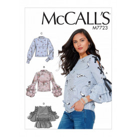 patron hauts amples McCall's M7723