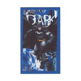 écusson batman the dark thermocollant