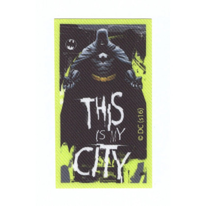 écusson batman this is my city thermocollant