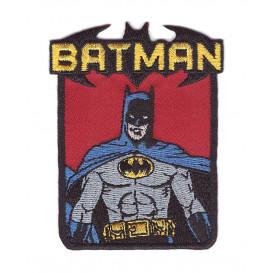 écusson batman buste thermocollant