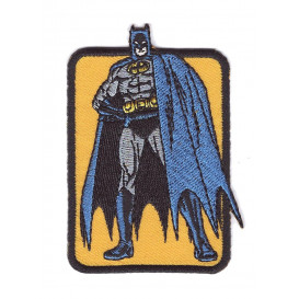 écusson batman debout thermocollant