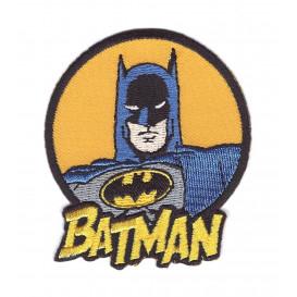 écusson batman rond thermocollant n°2