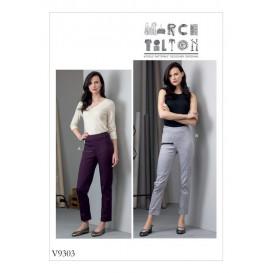 patron pantalon moulant Vogue V9303