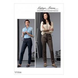 patron pantalon semi-ajusté Vogue V9304