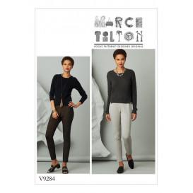 patron pantalon ajusté Vogue V9284