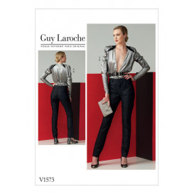 patron haut et pantalon Vogue V1573