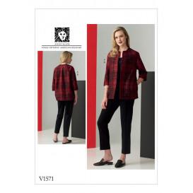 patron robe ajustée Vogue V1571