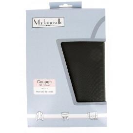 Coupon mademoiselle croco noir avec tuto 100x65cm