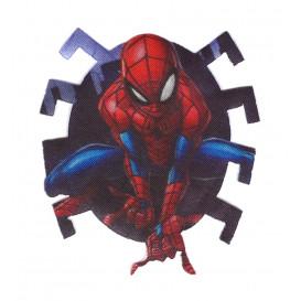 écusson spider-man satiné araignée thermocollant