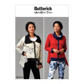 patron veste ample Butterick B6569