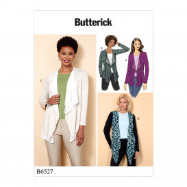 patron veste moulante Butterick B6527