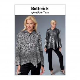 patron haut très ample Butterick B6521