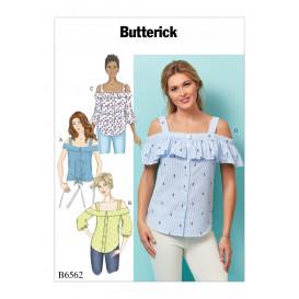 patron haut Butterick B6562