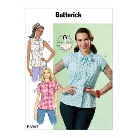 patron hauts amples Butterick B6563