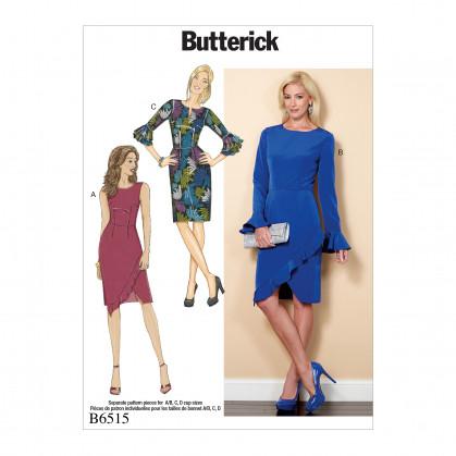 patron robe ajustée Butterick B6515