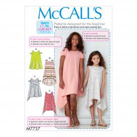 patron enfant robes McCall's M7737