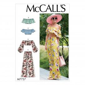 patron hauts et pantalon McCall's M7757