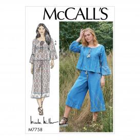 patron haut et pantalon McCall's M7758