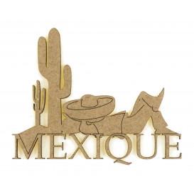 sujet en bois mexique