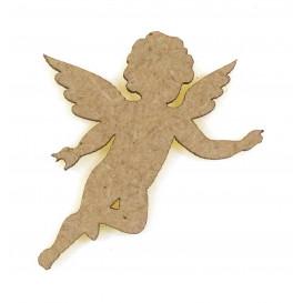 sujet en bois ange