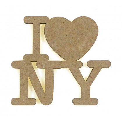 mot en bois i love new-york