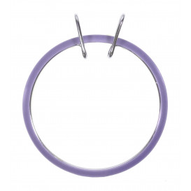 cercle de broderie machine mauve 13cm